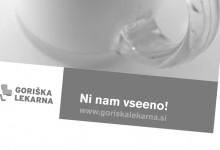Promocija Goriške lekarne Nova Gorica >> Goriška pharmacy Nova Gorica promotion