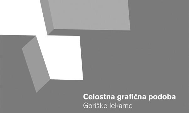 Celostna grafična podoba Goriške lekarne Nova Gorica >> Goriška pharmacy Nova Gorica visual identity